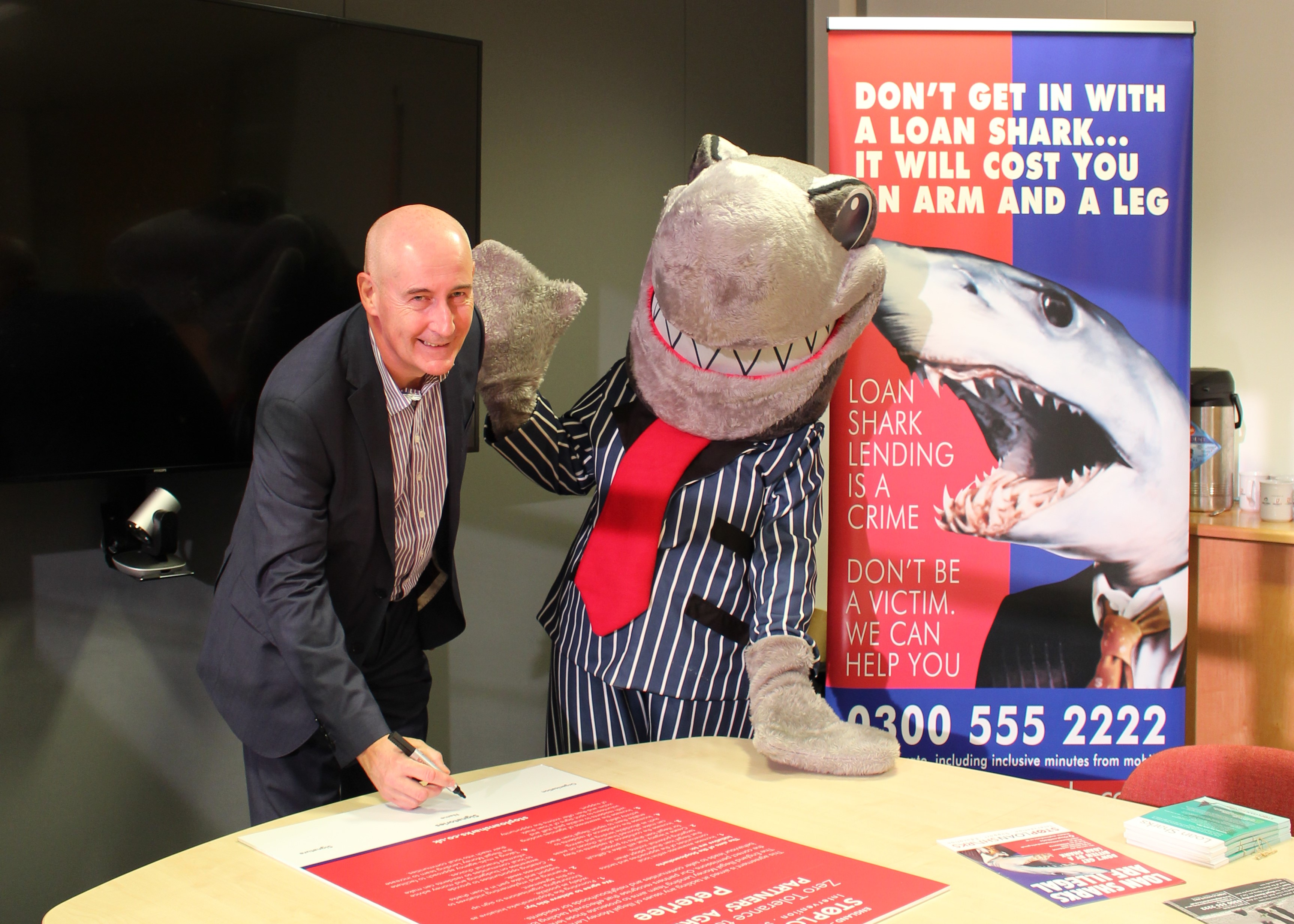 County Durham Housing Group has committeed to a zero-tolerance approach on loan sharks in East Durham